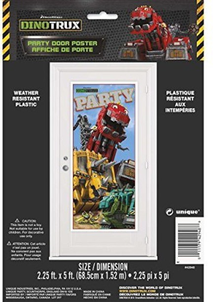 3 per Pack Dinotrux Hanging Swirl Party Decorations