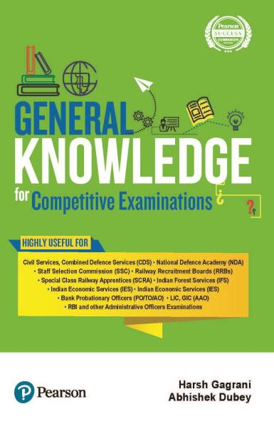 General Knowledge for Competitive Examinations by Pearson