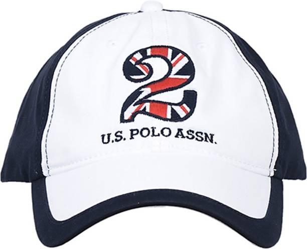 f4a375b5338 U.S. Polo Assn Solid Six Panel Baseball Cap