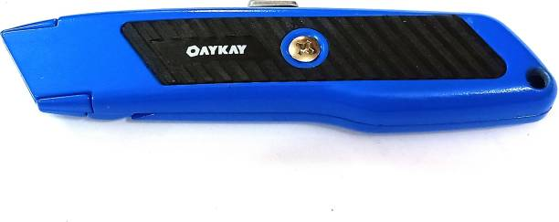 Oaykay OK-3097.50 utility Knife With Free Blades Wire Cutter