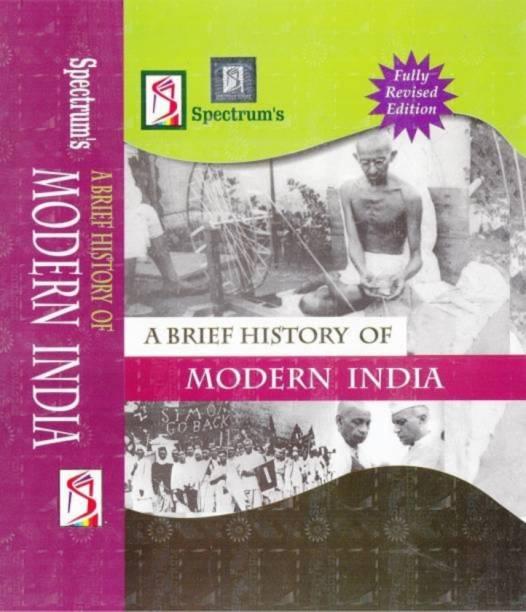 Modern India PaperBack (Rajiv Ahir) Best Book For (UPSC,IAS EXAMS)