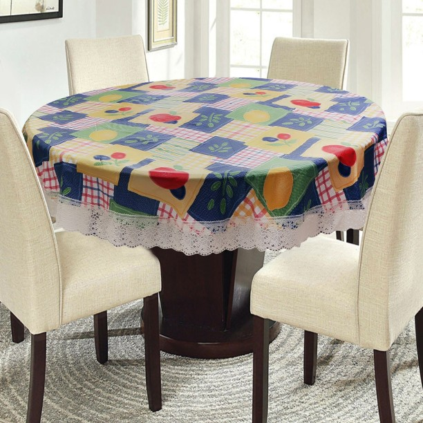 E-Retailer Self Design 4 Seater Table Cover & Table Covers | Table Covers Under Rs.299 at Flipkart