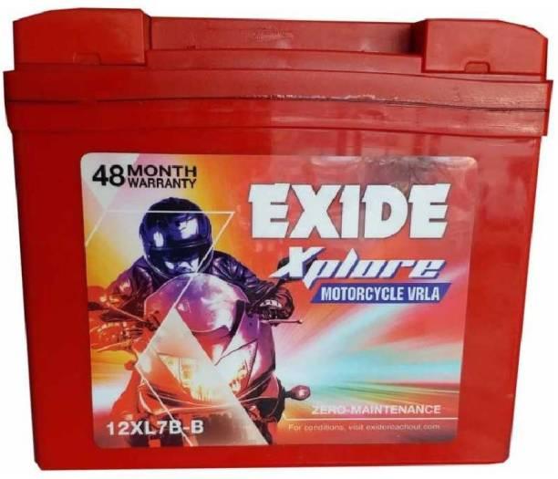 EXIDE Xplore 12XL7B 7 Ah Battery for Bike