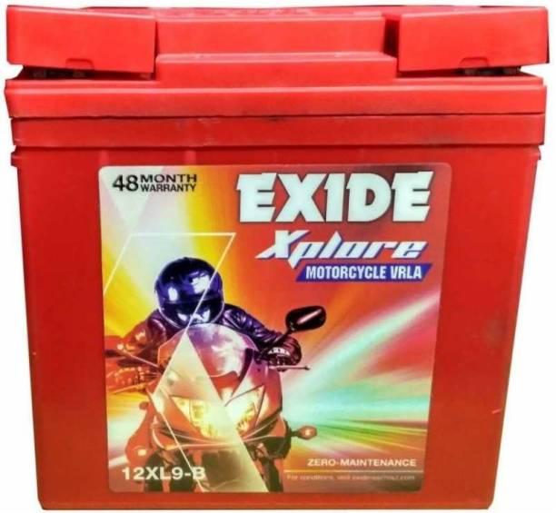 EXIDE Xplore 12XL9 9 Ah Battery for Bike