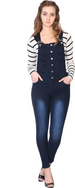5da3dabf7ba4 Dungarees for Women - Buy Women Dungarees   Dangri Suit Online at ...
