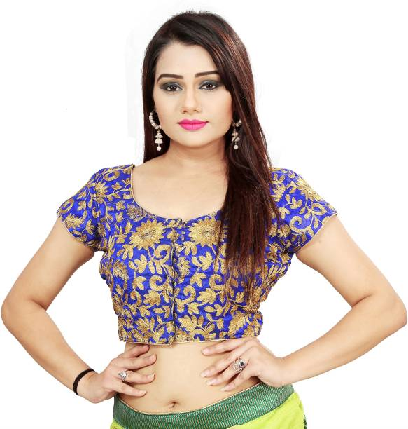 a38b7597b4a2b4 Embroidered Blouse - Buy Embroidered Blouse online at Best Prices in ...