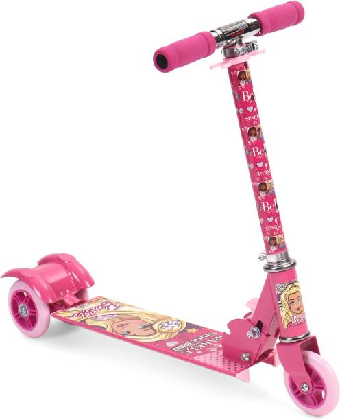 BARBIE Sparkle More Shine Bright 3 Wheel Scooter - Pink