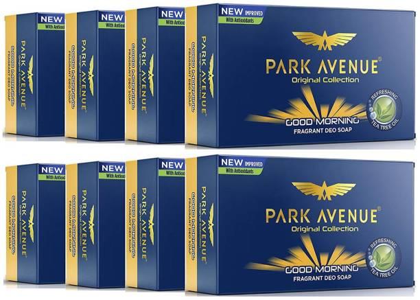 PARK AVENUE New GOOD MORNING Fragrant Soap 125g X 8