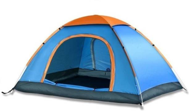 WDS Foldable Instant Camping Family Adventure Home Tent Tent Tent - For 4 Person