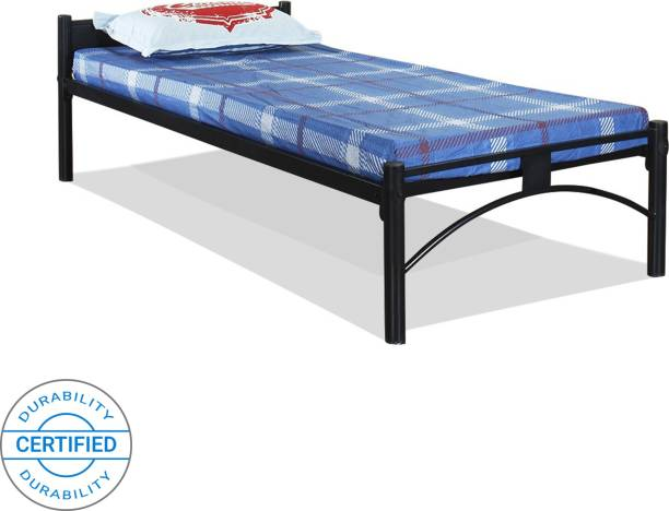 FurnitureKraft Sydney Metal Single Bed