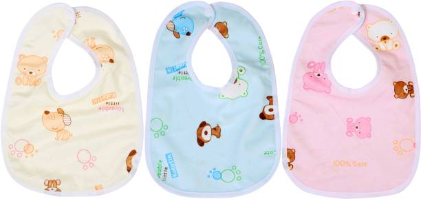 fc6b9a048 First Trend Waterproof baby bibs/aprins for the babies Bear print pack of 3