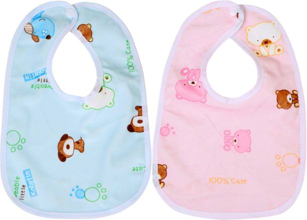 First Trend Waterproof baby bibs aprins for the babies Bear print pack of 2 37effa249f