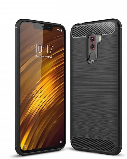 ... Tarkan Back Cover for Xiaomi Poco F1 Carbon Fibre Case for Pocophone F1 HQ Rubberized Back