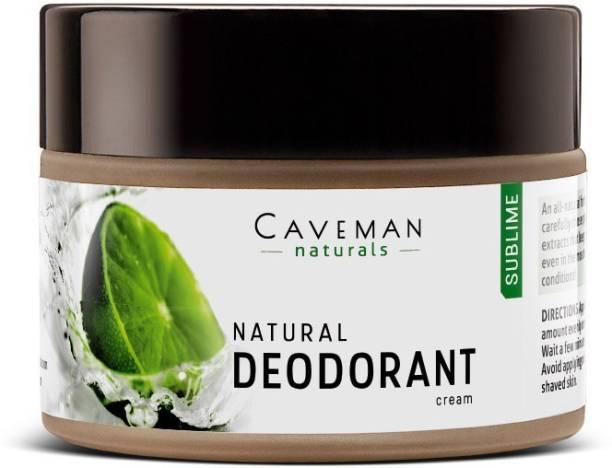 Caveman Naturals Deodorant (Sublime), Aluminum-free, Alcohol-free, 100% Natural, Organic Ingredients ??? Deodorant Cream  -  For Men & Women