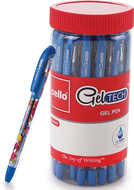 cello Geltech Gel Pen Jar Gel Pen