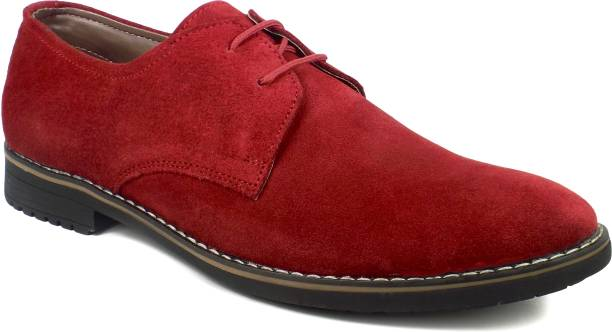 8d59183101c8c Dockstreet Ripley Series Genuine Suede Leather Derby Shoes Casuals For Men