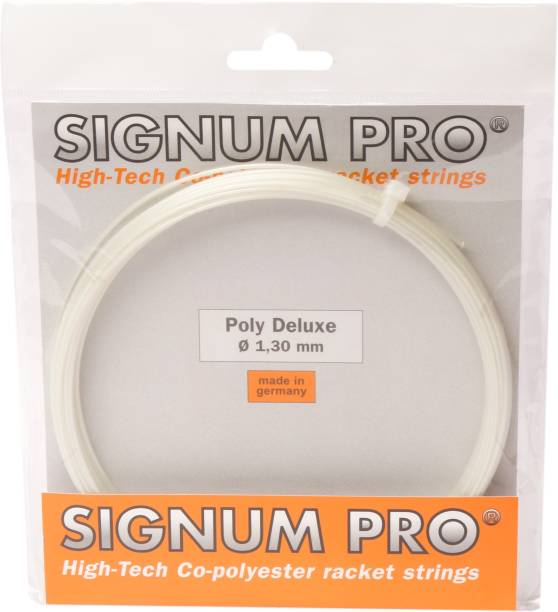 Signum Pro Poly Deluxe 1.30mm- 12m 1.3 Tennis String - 12 m