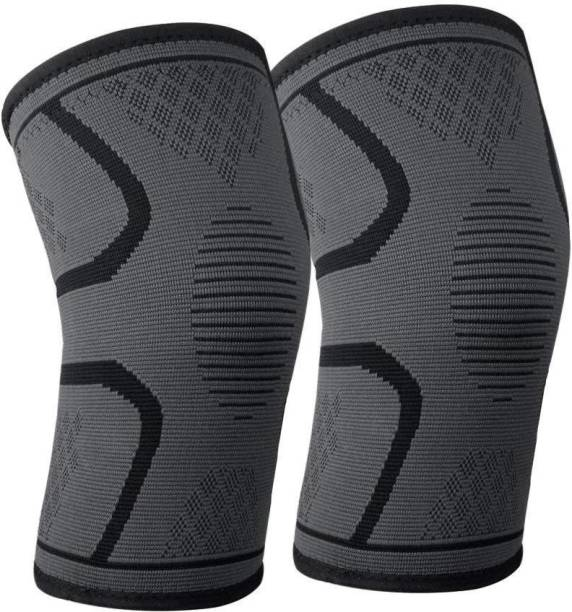 905e4533af DALUCI 1Pair Fitness Running Elastic Nylon Sport Compression Knee Pad  Sleeve Knee Support