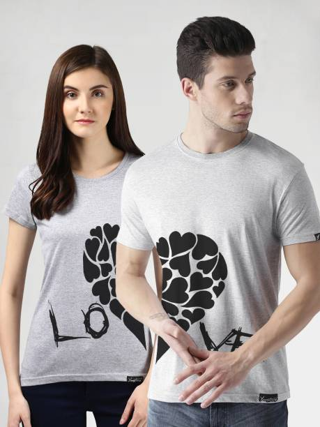 f7119694968 Couple T Shirts - Buy Couple T Shirts online at Best Prices in India ...