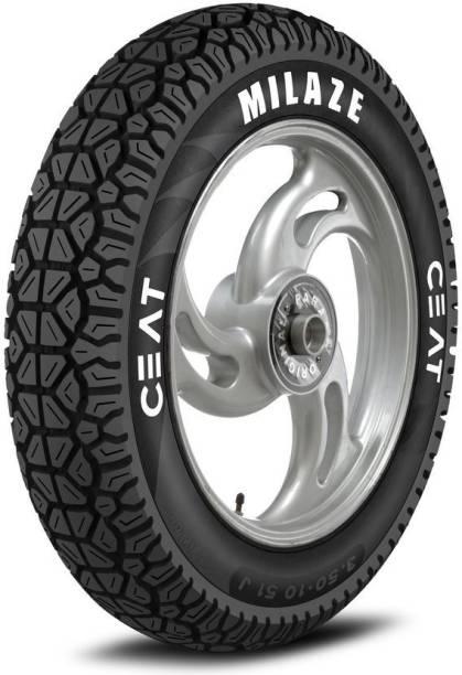 CEAT Milaze TL 90/100-10 Front & Rear Tyre