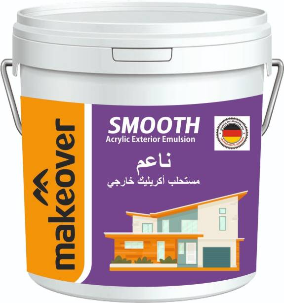 Makeover Sku 19 White Distemper Wall Paint