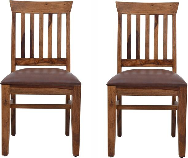 Induscraft Sheesham Wood Solid Wood Dining Chair