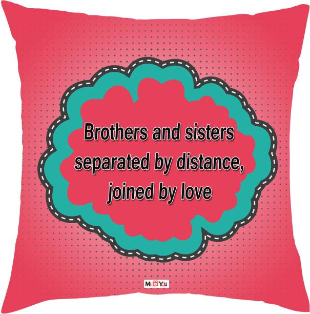 MEYOU Quotes Printed Decorative Cushion Pack
