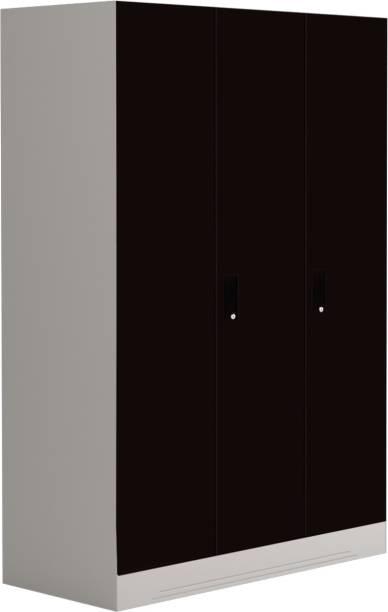 dfa59778cb Godrej Interio Slimline 3 Door With Locker and Drawer Metal Almirah