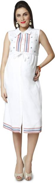 56241a35d95 Maternity Dresses - Buy Pregnancy Dresses Online at Best Prices In ...