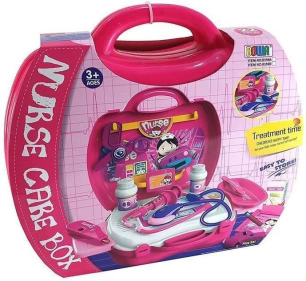 3897d478c Maxplanet Doctor Set Suitcase Case Make Your Little Ones Doctor (Nurse Care  Box)