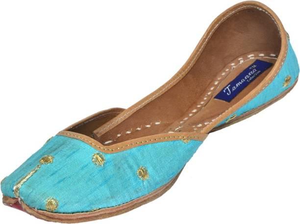 70d114c69cb6 Tamanna Ethnic handmade leather khussa Punjabi jutti Bellies For Women