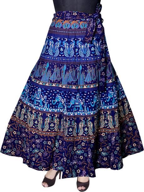 Divine Days Black Fl Print Wrap Maxi Dress