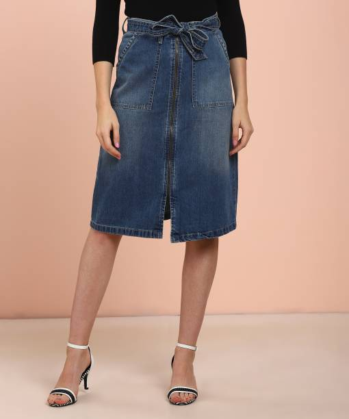 258e0c3f6 Pepe Jeans Skirts - Buy Pepe Jeans Skirts Online at Best Prices In ...