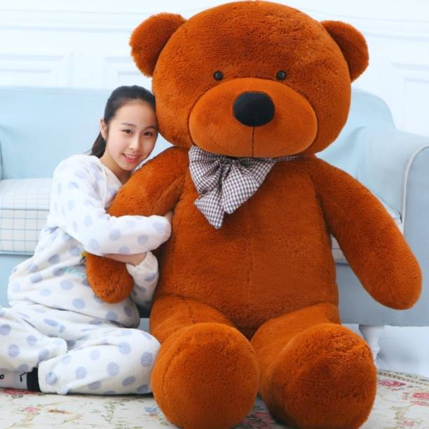 Buttercup Cute Mr. Hugglesworth Brown 90 Cm 3 feet Huggable And Loveable For Someone Special Teddy Bear  - 90 cm