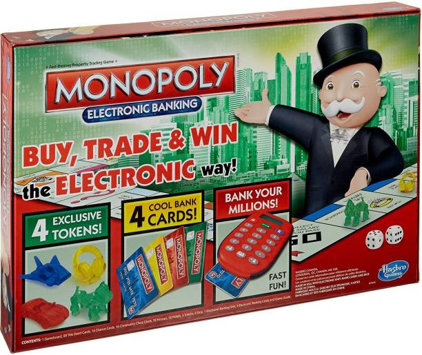 FUNSKOOL Monopoly E-banking Money & Assets Games Board Game