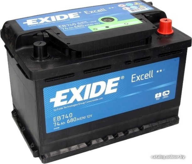 Exide Excell Car Battery 74Ah