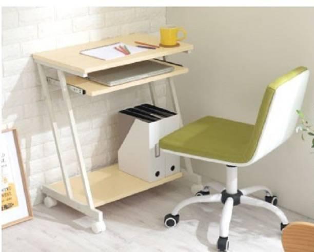 InnoFur Trapezi Beige Engineered Wood Computer Desk