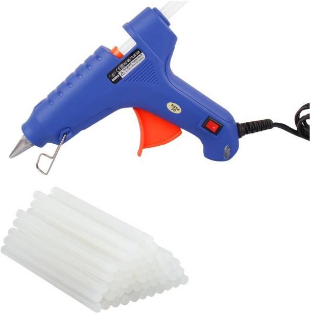 Wadro Hot Melt Glue Gun kit 100 Watt On/Off With 40 Glue Sticks For