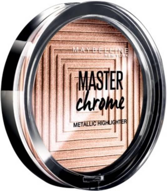 MAYBELLINE NEW YORK Chrome Metallic By Face Studio Master Highlighter Molten Gold Highlighter