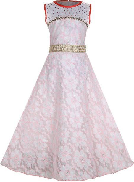 e3d53113b3af FabTag - Tiny Toon Girls Maxi Full Length Party Dress
