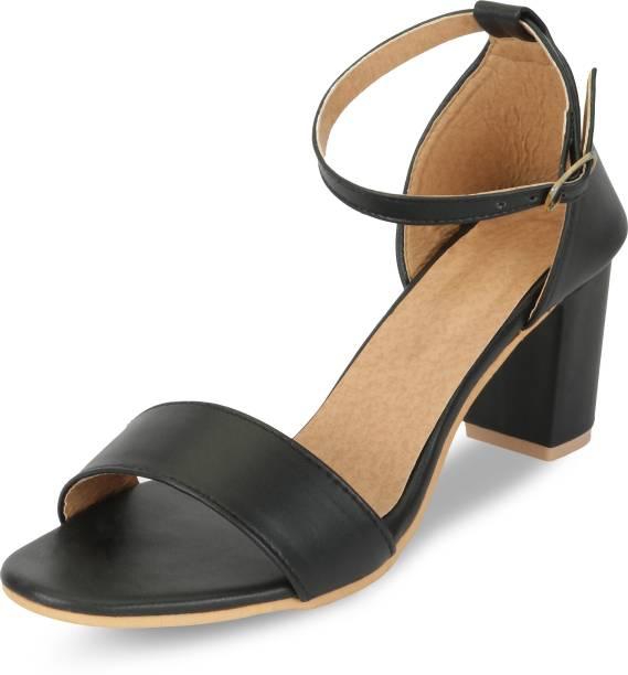 f2fada69973 Block Heels - Buy Block Heels Sandals Online At Best Prices in India ...