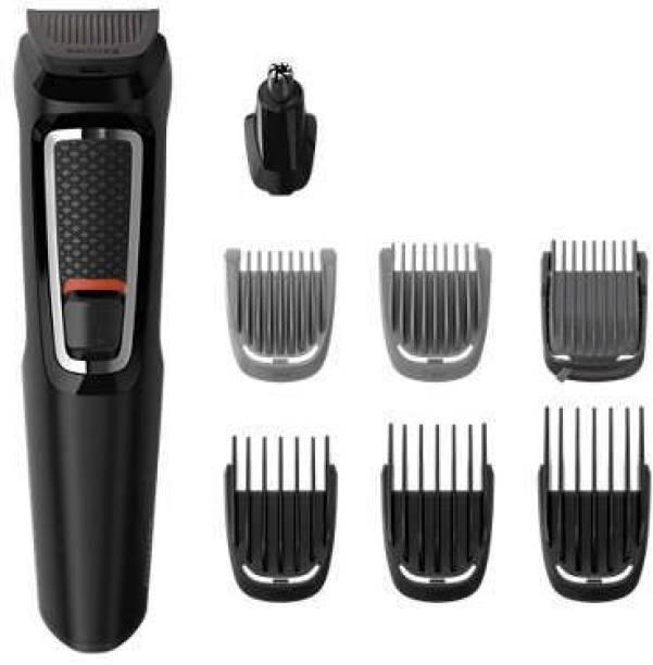 PHILIPS MG3730/15  Runtime: 60 min Grooming Kit for Men