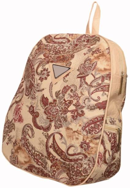 2084d5004d0 mra fashion Beautiful Printed Backpack for Girls   Women (black bosch) 3.5  L Backpack