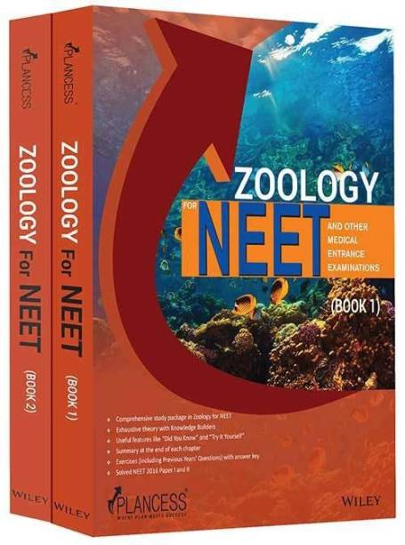 Zoology for NEET and other Medical Entrance Examinations, Book 1 & Book 2