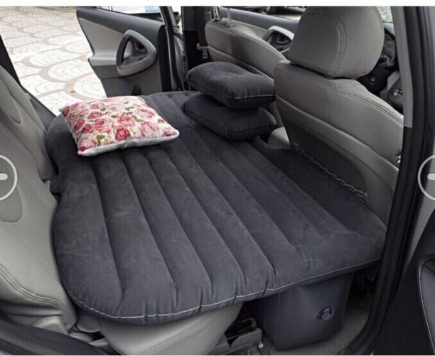 Carbed DCV000 Inflatable Travel Car Bed Sofa with 2 Pillow and Air Pump for Back Seat Car Inflatable Bed