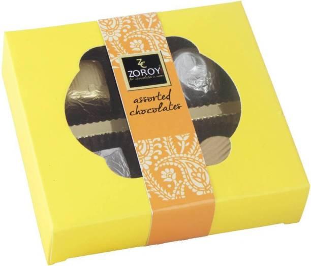 Zoroy Luxury Chocolate Diwali special box with 4 chocolates Fudges