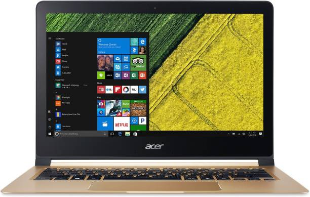 acer Swift 7 Core i5 7th Gen - (8 GB/256 GB SSD/Windows 10 Home) SF713-51 Thin and Light Laptop