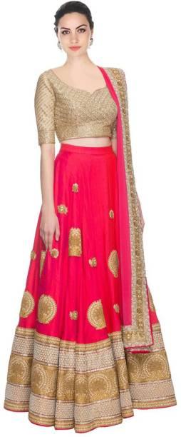 b8c0959efac Pink Lehengas - Buy Pink Lehenga Cholis Online at Best Prices In ...