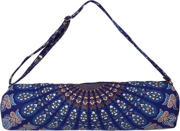 f6459ec6af Handicraft-Palace MYB-50 Yoga Mat Carrier Bag Mandala Indian Large Bags  With Shoulder