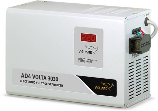 V-Guard AD4 Volta 3030 for 1.5 Ton AC (Working Range: 150-290 V) Voltage Stabilizer